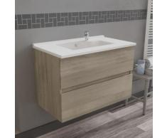 Caisson simple vasque 80 - Cambrian oak - Rosaly
