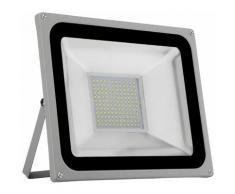 Hommoo - 9 PCS 100W Projecteur LED SMD Lampe Extérieure Blanc Froid LLDUK-D4NPT100W220VX9