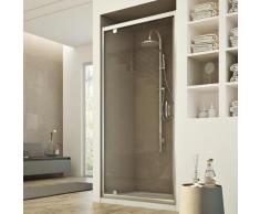 Porte Douche 100CM H185 transparent modèle Sintesi 1 Portillon