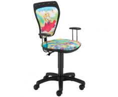 Nowy Styl - Siège tournant chaise de bureau princesse enfants chambre coloré maison accoudoirs TS22