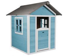 Maison Enfant Beach Lodge en Bleu | Maison de Jeux en bois FFC pour les enfants | Maisonnette /