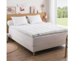 Surmatelas Premium Naturel - 200/200 Blanc - Dunlopillo