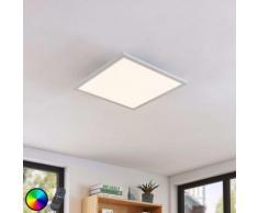LED Plafonnier à intensité variable 'Milian' en aluminium pour salon & salle à manger