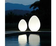 Lampadaire Egg design moderne Slide Dino | Taille: 120
