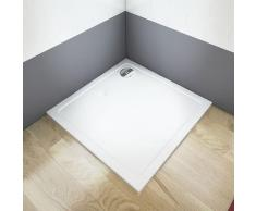 Receveur de douche extra plat 76x76x3cm carré