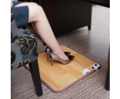 Bouillotte 50x30cm Pieds Réchauffeur Électrique Artefact Plug Tapis chauffant Bureau Coussin Chauds