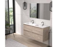 Meuble Etna 4C 120 Decape + Lavabo + Miroir