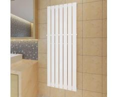 Porte-serviette 542mm + Radiateur panneau blanc 542mm x 1500mm