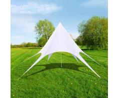 Tente de jardin en forme d'étoile 14 m