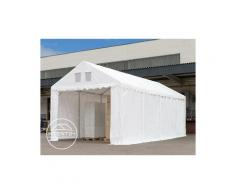 Intent24.fr - 4x6m Tente de stockage INTENT24, PVC env. 550 g/m², H. 2,6m