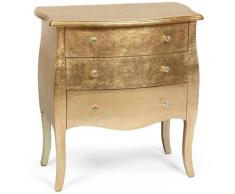 Cotecosy - Commode Classico en bois laqué Or rose - Or rose