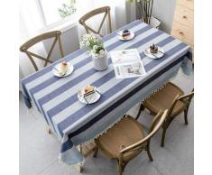 Ilovemono - ILoveManoMano Nappe anti-poussière épissure, nappe rectangulaire, table à thé de jardin