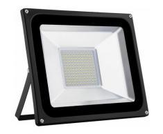 8 PCS 100W LED Lampe d'extérieur Projecteur seul SMD Blanc chaud LLDUK-D4NPT100WB220VX8