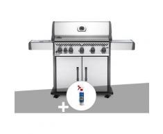 Barbecue à gaz Napoleon Rogue XT 625 SIB + Nettoyant grill 3 en 1
