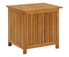 Youthup - Boîte de rangement de jardin 60x50x106 cm Bois d'acacia solide