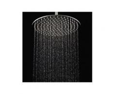 Pommeau de douche effet pluie DPG2025- extra plat - 20cm - rond - chromé