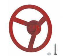 Fatmoose - WICKEY Volant rouge pour aire de jeux, portique balançoire & cabane enfant