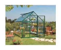 Serre de jardin HYBRID 6x10 vert - 5.7m²