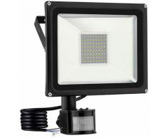 8 PCS 50W Projecteur LED SMD Lampe Extérieure Mit Bewegungsmelder Blanc Chaud LLDUK-D4NGPBT50W220VX8