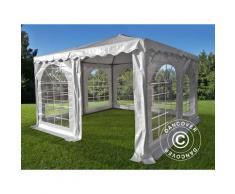 Tente Pagode Exclusive 4x4m PVC, Blanc