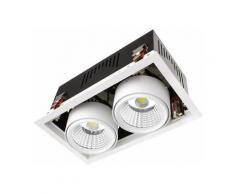 Projecteur LED SAMSUNG GRILL Orientable COB 60W LIFUD Blanc Froid 5000K-5500K