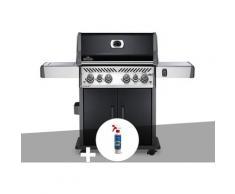 Barbecue à gaz Rogue SE 525 noir 4 brûleurs + Nettoyant grill 3 en 1 - Napoleon