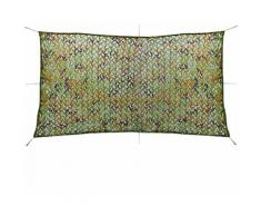 Filet de camouflage avec sac de rangement 4 x 8 m