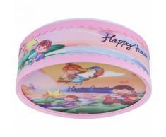 Plafonnier, motif enfant, multicolore, D 28 cm, BIBIFEE