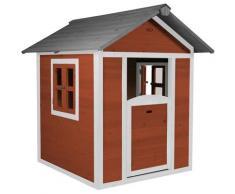 AXI Maison Enfant Beach Lodge en Rouge | Maison de Jeux en Bois FFC pour Les Enfants | Maisonnette