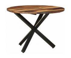Table de salle à manger 100x100x75 cm Bois d'acacia7785-A