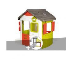 Cabane enfant Neo Jura Lodge - Smoby + Cuisine d'été