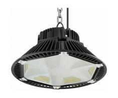 Anten 200W UFO LED Anti-Éblouissement Rond Industriel LED Étanche IP65 Projecteur Extérieur Blanc