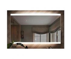 Miroir LED salle de bain 118x60cm Modern