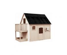 Soulet - Cabane en bois haute sur pilotis pour enfant - Duplex