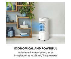 Klarstein - Skypillar rafraîchisseur d'air 3-en-1 ventilateur humidificateur d'air réservoir 5L