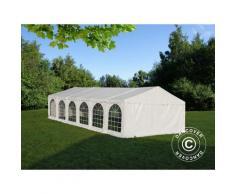 Tente de réception, SEMI PRO Plus CombiTents® 6x12m 4-en-1, Blanc