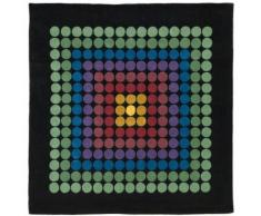 Tapis carré VP08 250cm Verner Panton Multicolore