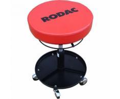 RODAC Chaise à roulettes Rouge 90 kg TL3010N