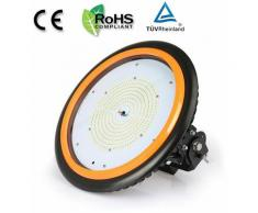 Anten 150W UFO LED Projecteur Industreil Suspension IP65 Haute Baie LED Rond 22000LM Éclairage