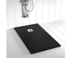 Receveur de douche Résine PLES Noir - 170x100 cm