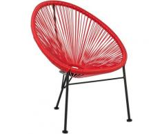 Chaise Acapulco [KIDS!] Rouge Coquelicot