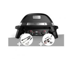 Barbecue électrique Weber Pulse 2000 + Kit ustensiles 3 pièces Better + Kit de nettoyage