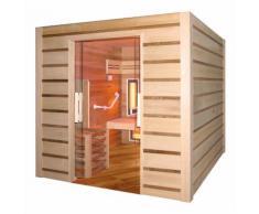 Sauna à vapeur et infrarouge COMBI ACCESS 4 places