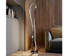 LED Lampadaire à intensité variable 'Xalia' en aluminium pour salon & salle à manger