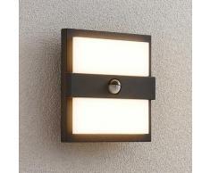 LED Lampe Exterieure Detecteur De Mouvement 'Gylfi' en aluminium