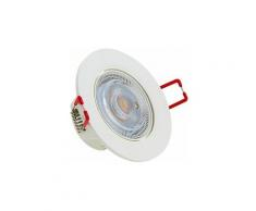 Spot LED intégré Orientable - 345 lumens - Intensité variable - SEL345DS - Xanlite