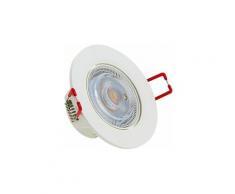 Spot Encastrable LED Intégré - Dimmable par switch - Orientable - cons. 6W (eq. 50W) - 400 lumens