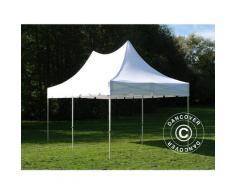 Tente pliable FleXtents PRO Peak Pagoda 3x6m Blanc