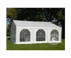 Tente de réception SEMI PRO Plus 7x7m PVC, Blanc