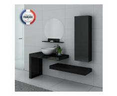 Meuble de salle de bain Monza Noir